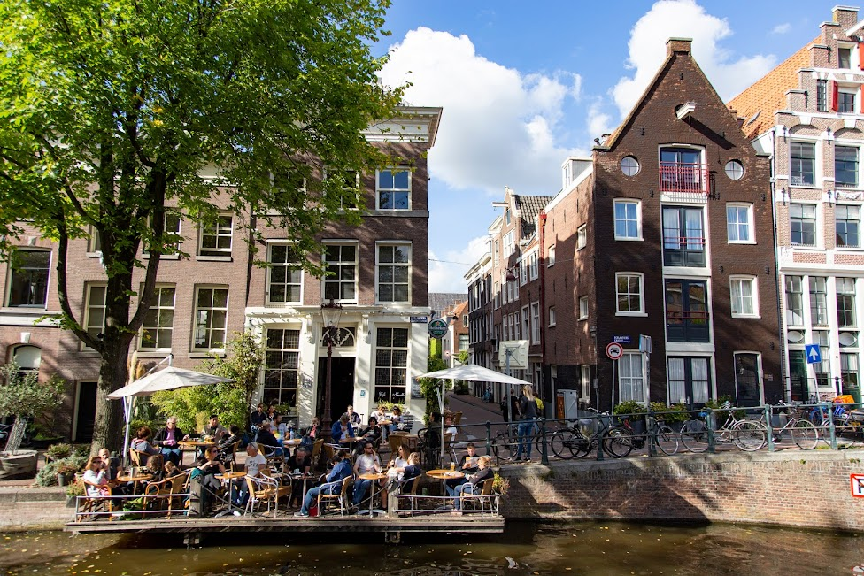 Amsterdam, kamienice