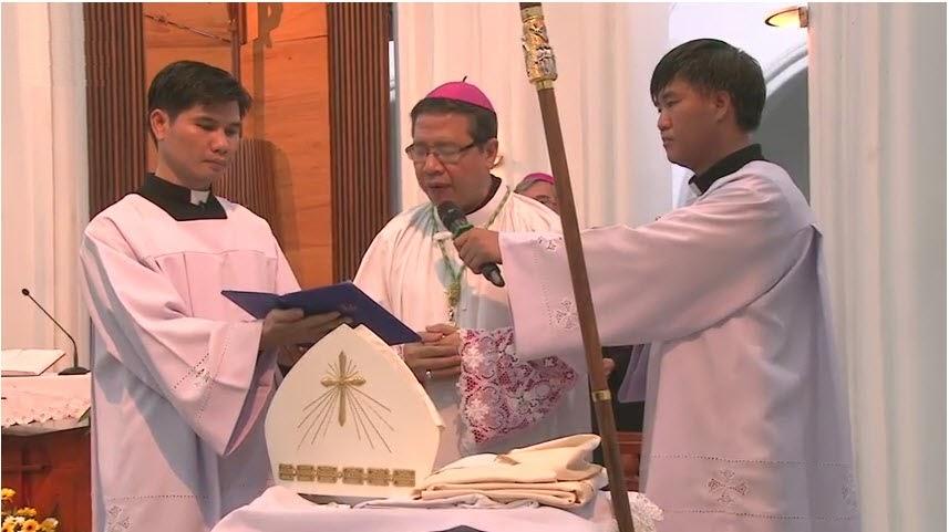 Nghi thức Tuyên thệ của Đức Tân Giám mục Luy Nguyễn Anh Tuấn - Ảnh minh hoạ 5