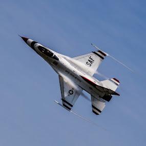 F16 by Paul Drajem - Transportation Airplanes ( plane, jet plane, airplane, f16, jets,  )