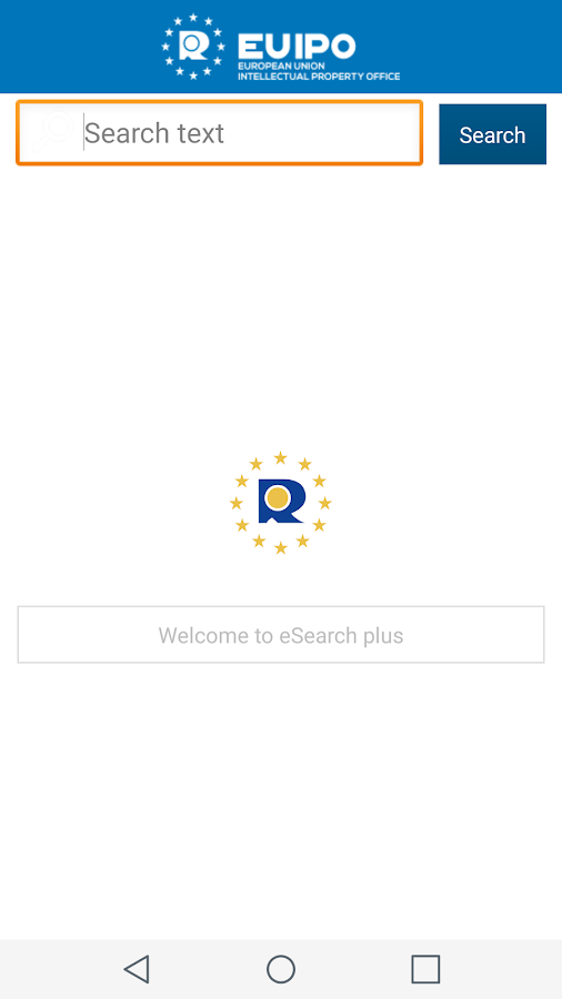 EUIPO eSearch plus- screenshot