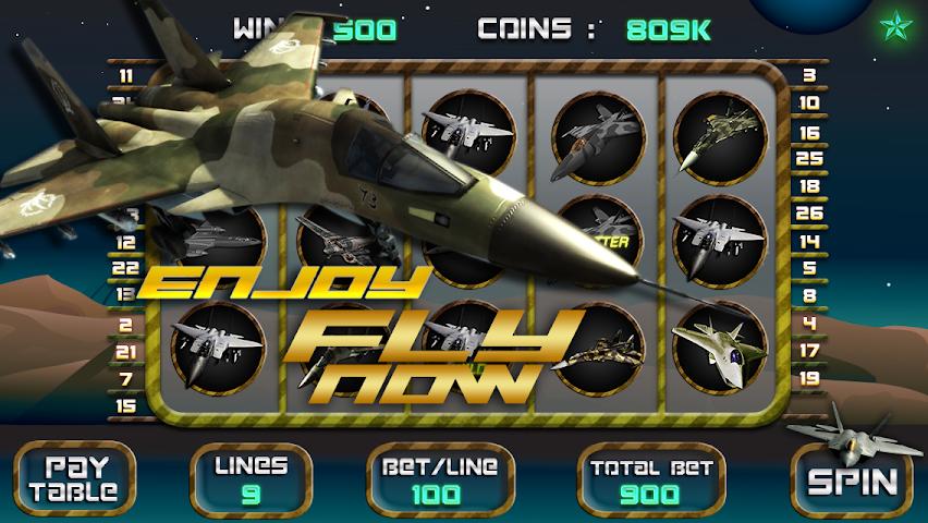 Airplane slots game