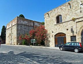 Photo: Rhodos oude stad.