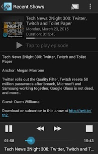 TWiT Cast for Chromecast - screenshot thumbnail