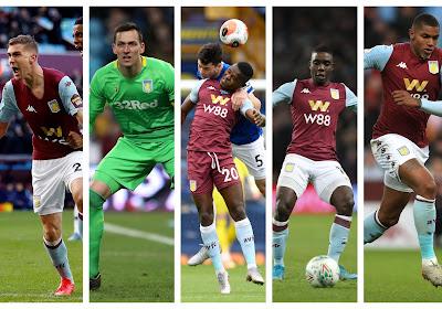Moeten we na een jaartje opnieuw afscheid nemen van 'Belgen'legioen in Engeland? Aston Villa speelt laatste troefkaarten uit