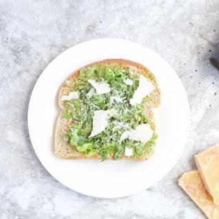Caesar Salad Avocado Toast Recipe