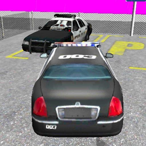 警察駐車場3D HD 賽車遊戲 App LOGO-硬是要APP