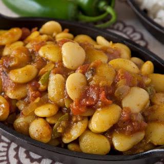 Lima Bean Curry Recipe