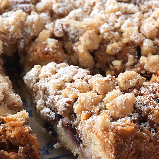Gluten-Free Blueberry Coffeecake.