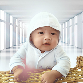 baby dean by Alexander Valdez - Babies & Children Babies ( d, dogs, drop, drops, daisy, design )