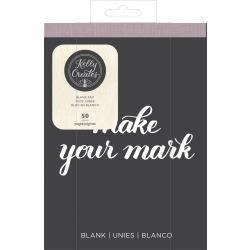 Kelly Creates Travel Practice Pad 6X8 50/Pkg - White/Blank