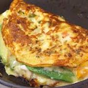 Avocado, Mushroom & Swiss Omelette A La Carte