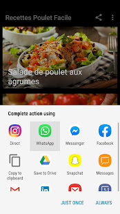 Download Recettes Poulet Facile For PC Windows and Mac apk screenshot 8