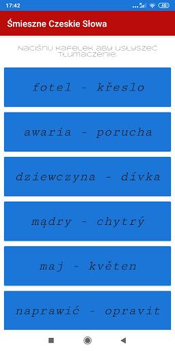 Śmieszne Czeskie Słowa screenshot 1
