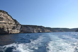 Photo: ránný výlet loďou okolo útesov v Bonifáciu