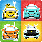 Cars memory game for kids Icon