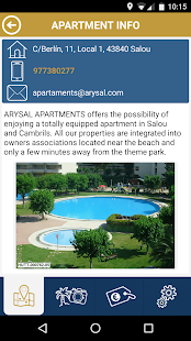 COSTA DORADA APARTMENTS SPAIN- screenshot thumbnail