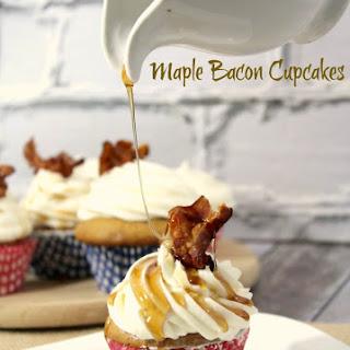Maple Bacon Cupcakes Batter.