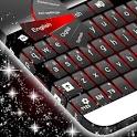 Black Red Keyboard icon