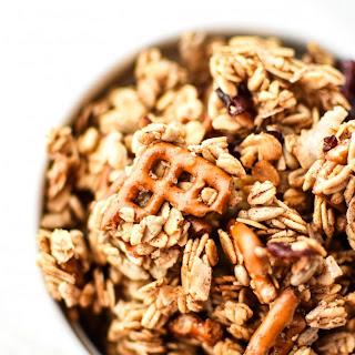 Super Clumpy Nut-Free Snack Mix Granola Recipe
