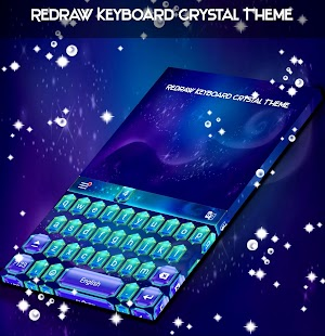 Redraw Keyboard Crystal Theme - náhled