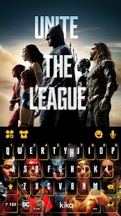 Justice League Kika Keyboard - náhled
