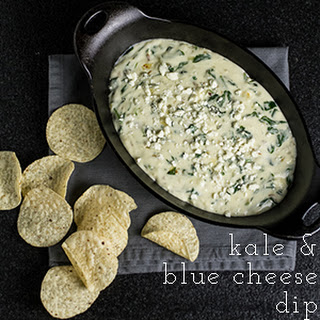 Kale & Blue Cheese Dip.