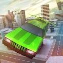 Free Limo Flying Car Simulator icon