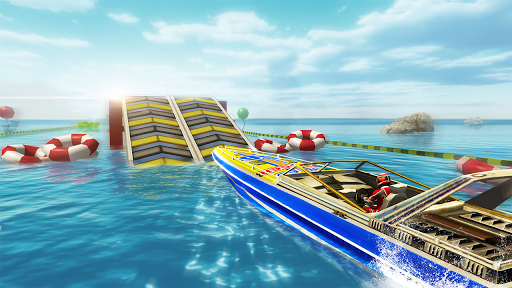 Speed Boat Racing Challenge