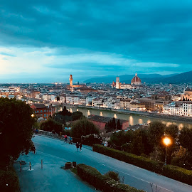 Florence City by RAJARSHI BISWAS - City,  Street & Park  Historic Districts ( florence, del duomo, italy )