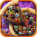 Halloween Candy Pizza Maker icon