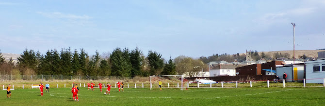 Photo: 29/03/14 v Kello Rovers (Ayrshire District League) 2-10 - contributed by Mike Latham