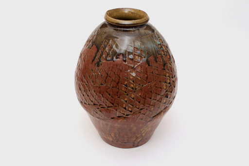 Mike Dodd Large Ceramic Bottle 06