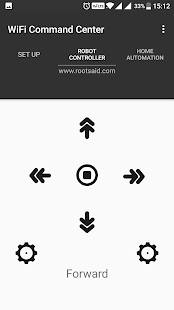 RootSaid - WiFi Command Center - náhled