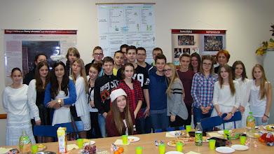 Photo: Wigilie klasowe w Gimnazjum nr 1 w Płońsku [17.12.2014]