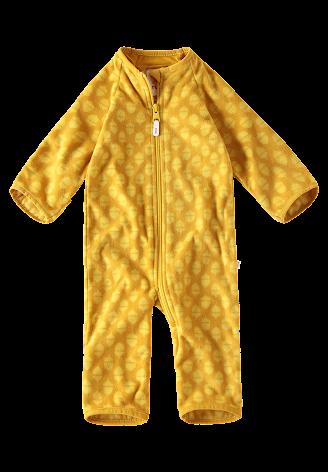 Reima Laulu 516301-2464 Dark Yellow fleecedress