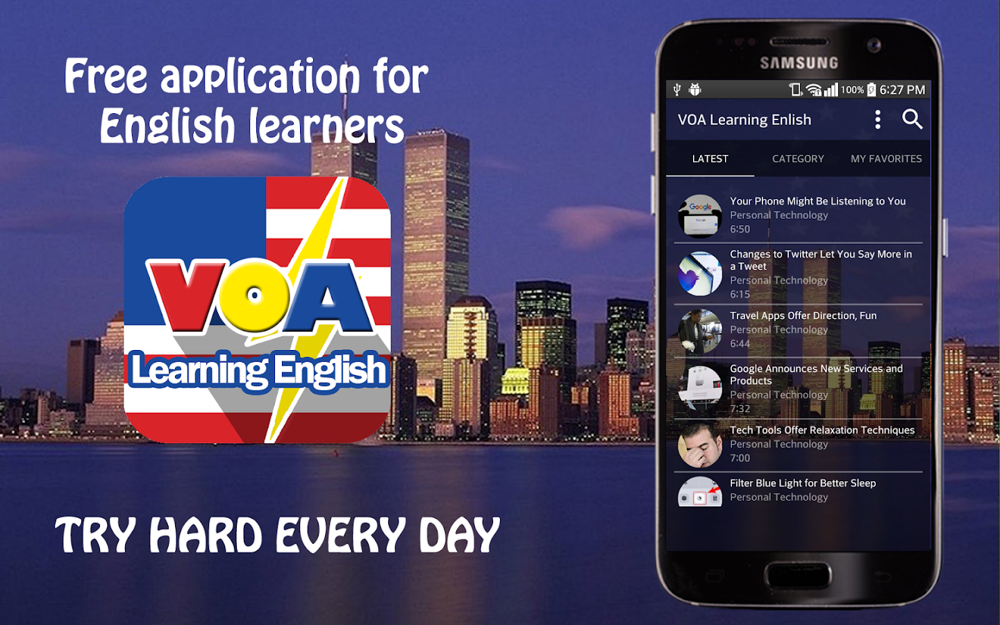 VOA Learning English 2017- screenshot