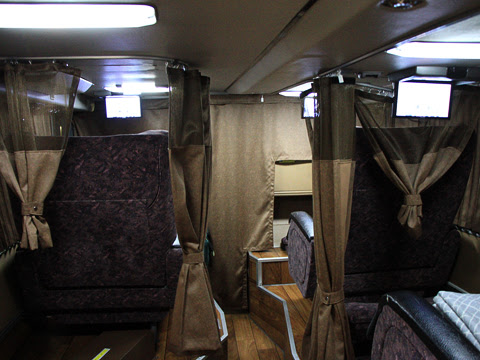 JRバス関東「プレミアムドリーム」 1179_203 1階プレミアムシート_01 車内