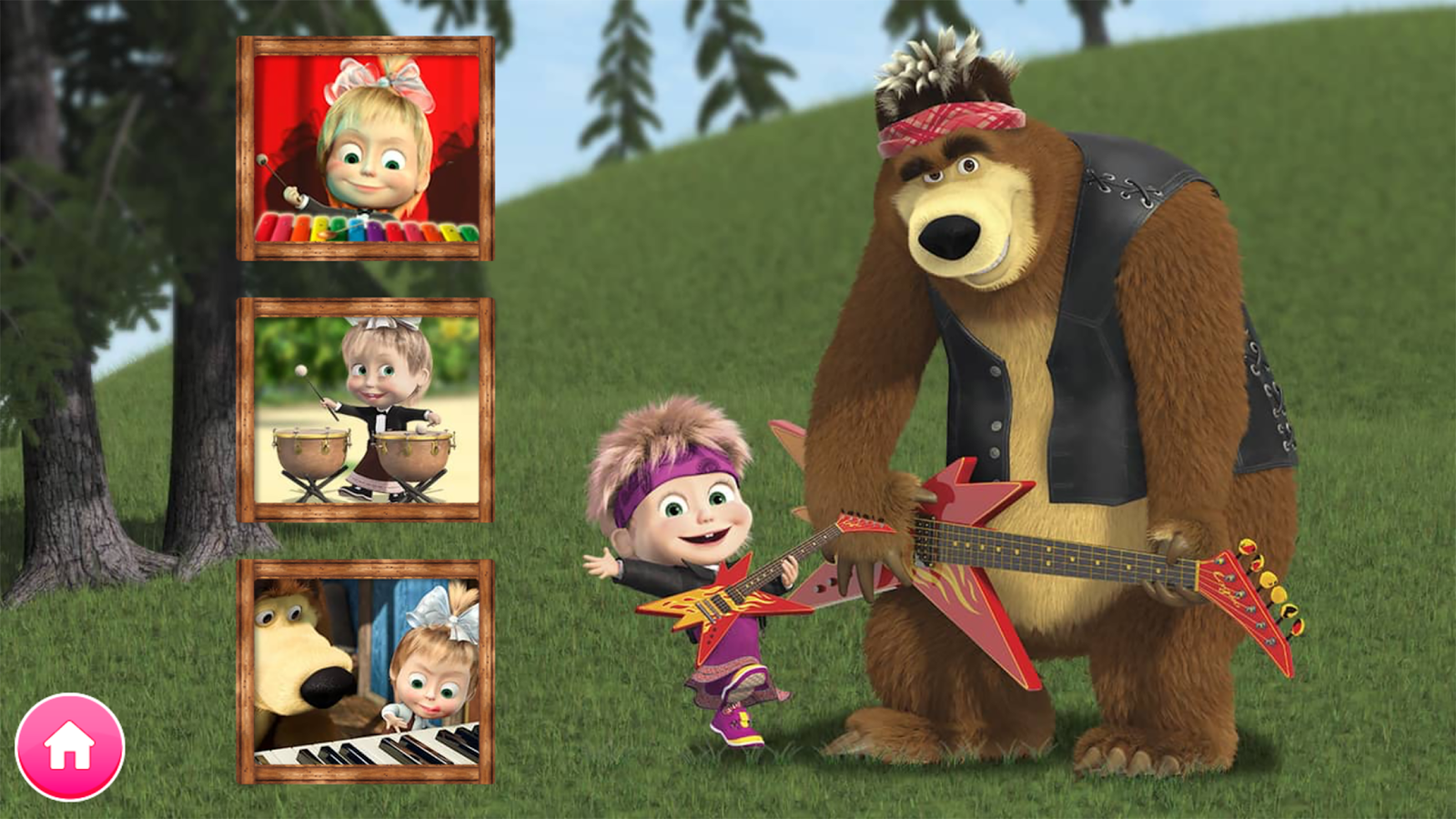 Masha and The Bear Games to Play for Kids - dailymotion.com