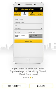 Home Cabs: Taxi Cab Service- screenshot thumbnail