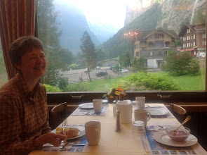 Photo: Breakfast: happiness at last!