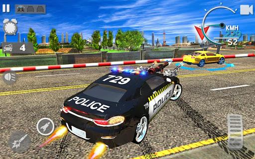 Police Autoroute Chasse dans Ville - la criminalit  astuce 1