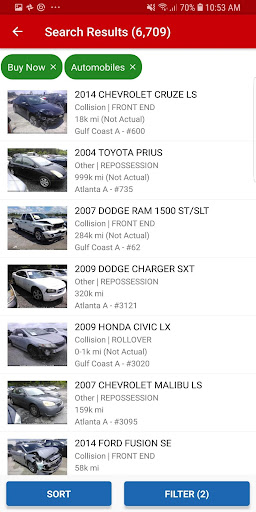 IAA Buyer Salvage Auctions  screenshots 5