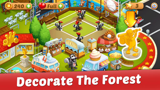 Solitaire: Forest Rescue apklade screenshots 2