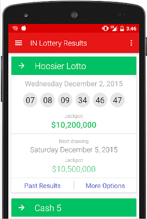Indiana Lottery Results 5.0 screenshot 1032582