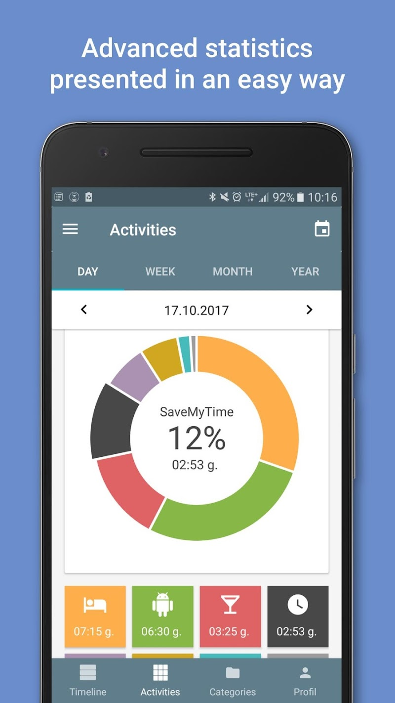 SaveMyTime - Time Tracker Screenshot 2