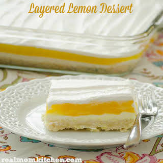 Lemon Layered Dessert.