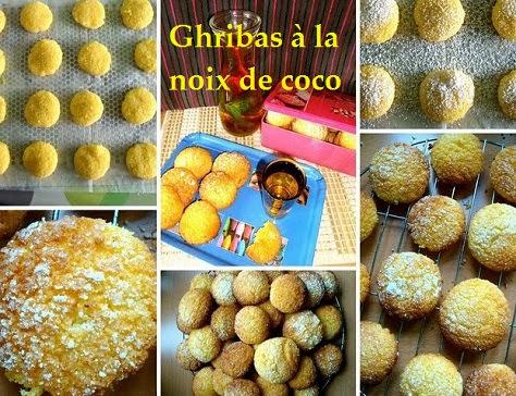 Ghribas à la noix de coco
