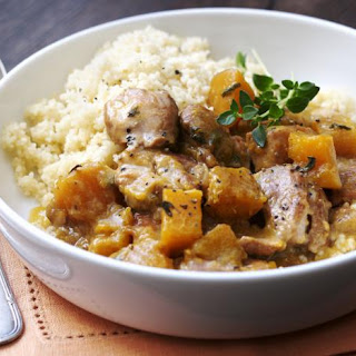 Slow Cooker Chicken and Butternut Squash Stew Recipe