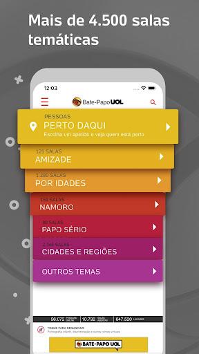 Bate-Papo UOL: Chat de paquera e vu00eddeo ao vivo 4.9.1 Screenshots 4