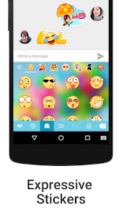 iKeyboard - emoji, emoticons- screenshot thumbnail